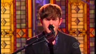 James Blake 'Retrograde' Letterman Performance