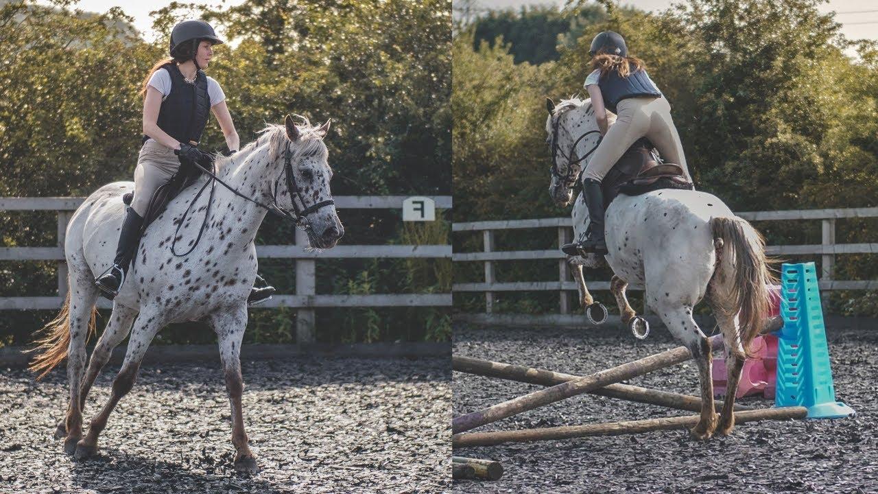 First Jumping Lesson (Riding Fail!) | Equestrian Vlog
