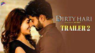 Dirty Hari Telugu Movie Trailer 2 | MS Raju | Shravan Reddy | Ruhani Sharma | Simrat Kaur | Sunil