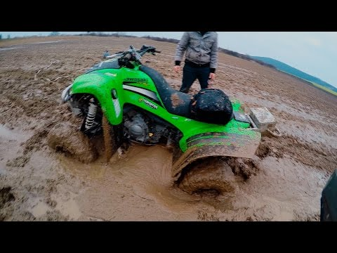 When mudding goes wrong...