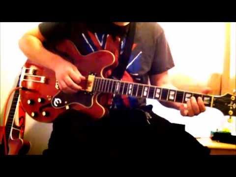 Champagne Supernova Guitar cover