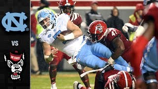 North Carolina vs. NC State Football Highlights (2019)