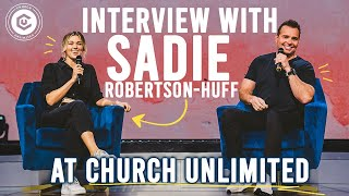 Sadie Robertson Huff at Church Unlimited | How Can I Be Confident?