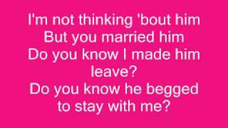Toni Braxton - He Wasn't Man Enough For Me (lyrics)