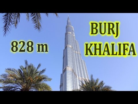 Burj Khalifa - Tallest Building In The World (828m) , Level 148 Vs 125 , 4K