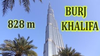 Burj Khalifa - Tallest Building In The World (828m) , Level 148 Vs 125 , 2016 4K