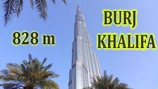 Burj Khalifa   Tallest Building In The World (828m) , Level 148 Vs 125 , 4k