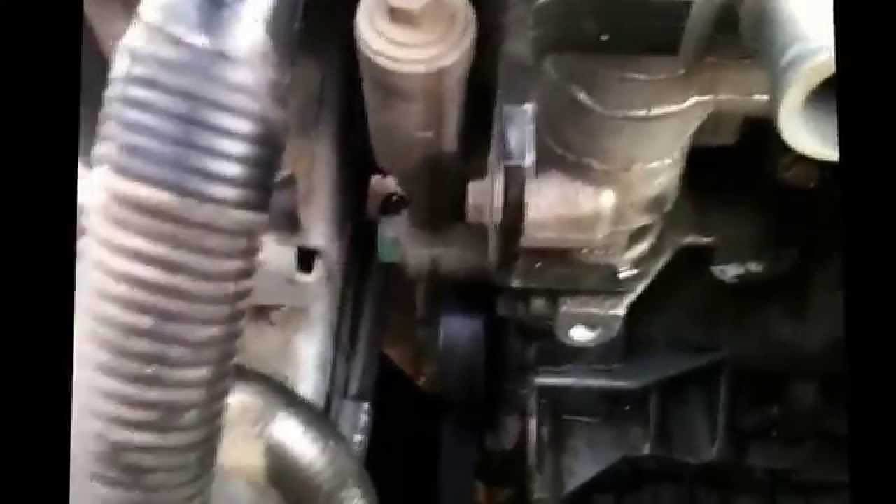 2004 Chevrolet Cavalier Alternator Replacement  YouTube