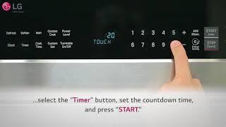 LG OTR - How to Use Basic Features: LMHM2237/LMH2235/LMVM2033/LMV2031 (2018 Update)