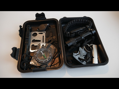 LANMING 10 in 1 SURVIVAL KIT im TEST