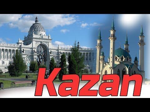 Kazan Russia 4K.  City | People | Sights