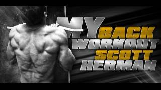 My Back Workout- Scott Herman