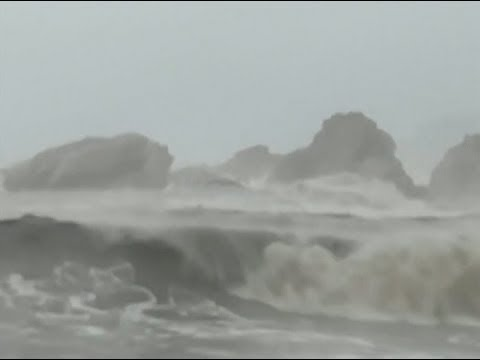 Typhoon Ampil Makes Landfall in Shanghai