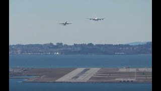 20 kts Crosswind landing A380 in Nice