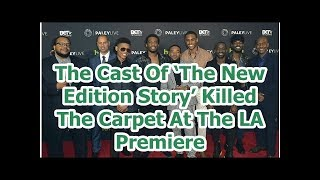 The Cast Of 'The New Edition Story' Killed The Carpet At The LA Premiere
