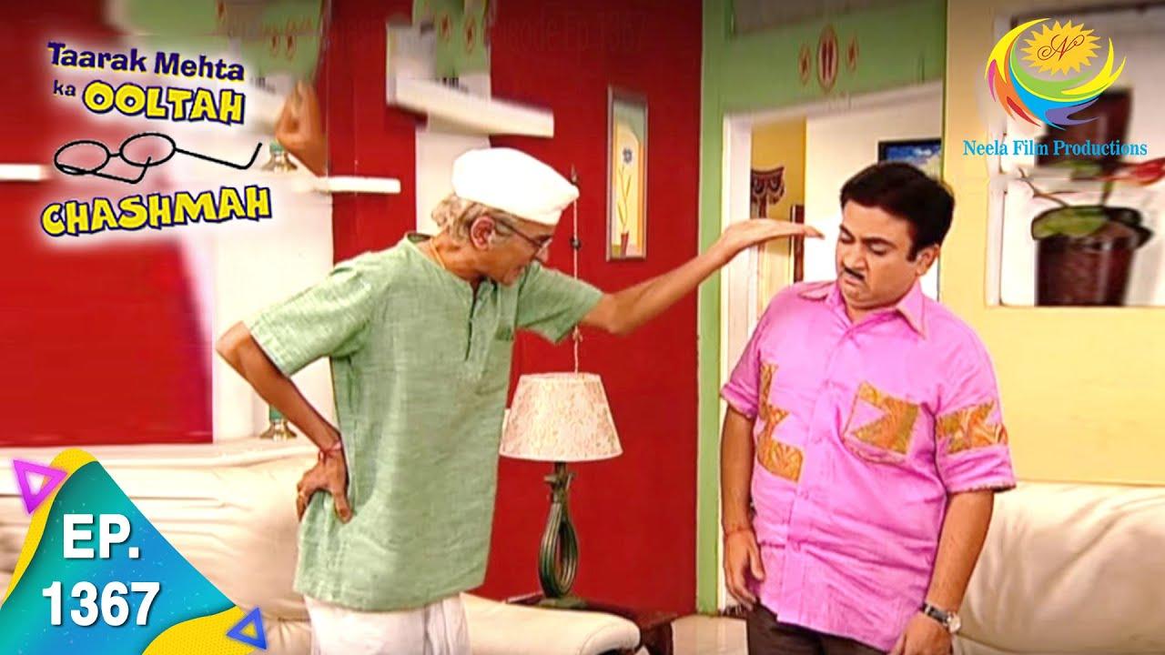 Download Taarak Mehta Ka Ooltah Chashmah - Episode 1367 - Full Episode