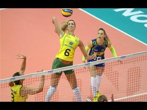 (Set 1) Brazil x Canada - 2014 FIVB Volleyball Women's World Championship
