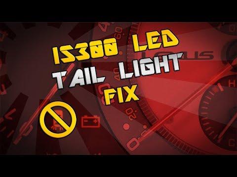 IS300 Tail Light Warning Light Fix