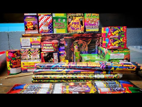 November 2018 Fireworks Stash
