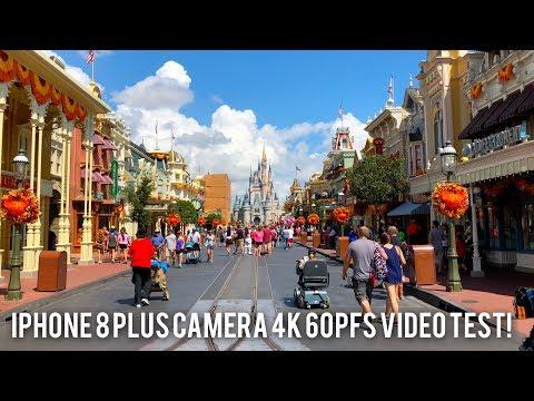 iPhone 8 Plus Camera 4K 60fps Video Test (iPhone X)