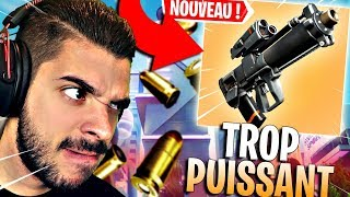 THE NEW ARME IS TROP CHEAT ON FORTNITE! - THE LOCAL GRENADE SPEAR