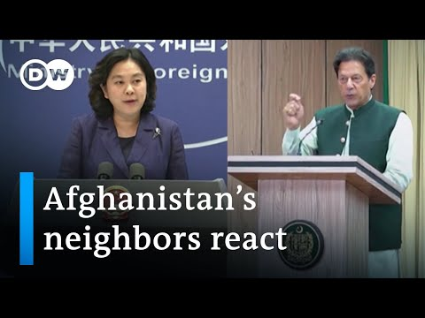Taliban takeover: How do neighboring countries react? | DW News