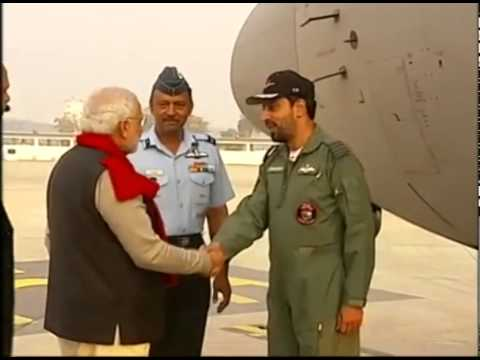 PM Modi departs for Siachen