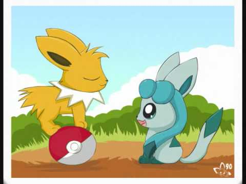 Cute Espeon Wallpaper Glaceon And Jolteon Love Story Youtube