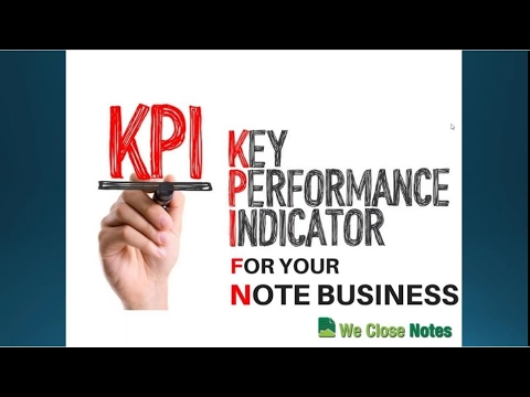 The Monday Note   Key Performance Indicators For Your Note Business HD