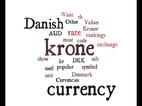 Danish Currency - krone