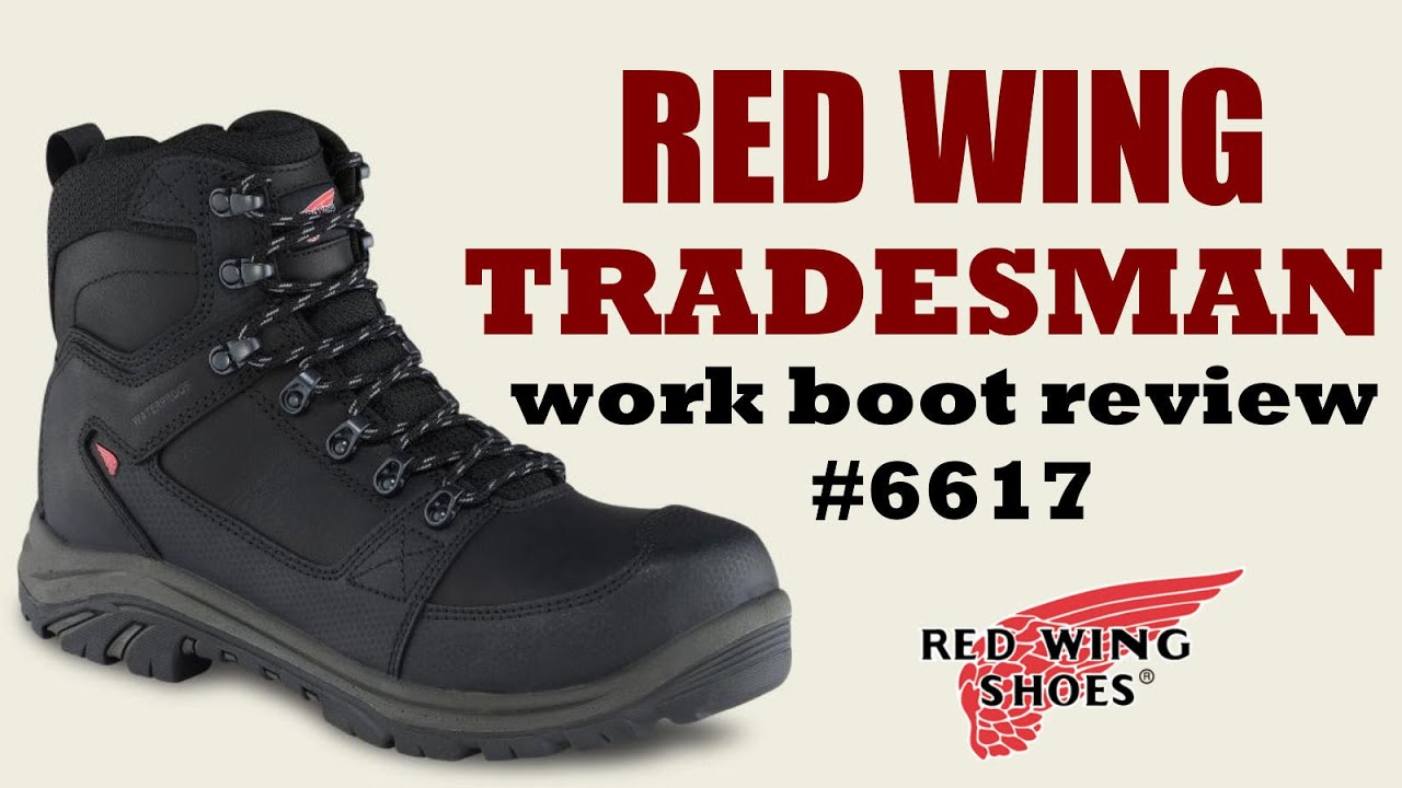 Red Wing Tradesman Workboot Review