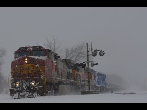 Thumbnail: Trains in the Snow