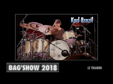 Karl Brazil  - Bag'Show 2018 - Paris drums Festival
