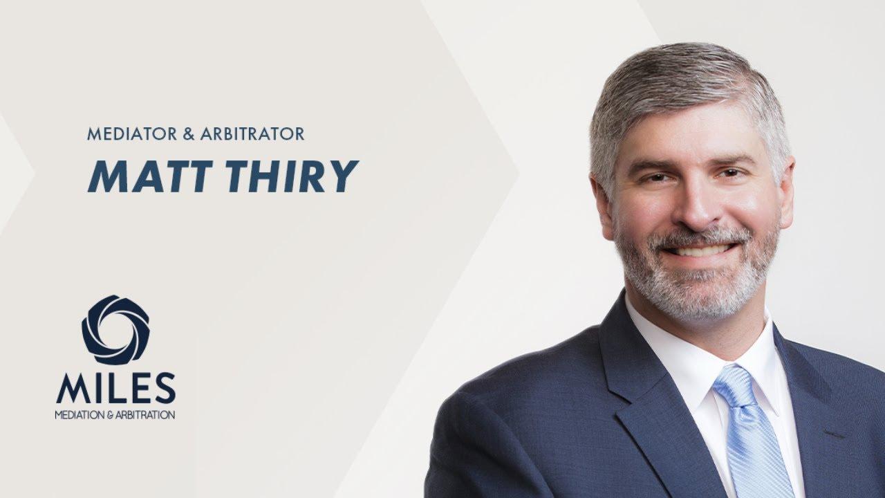 Matt Thiry | The Evolution of Resolution video