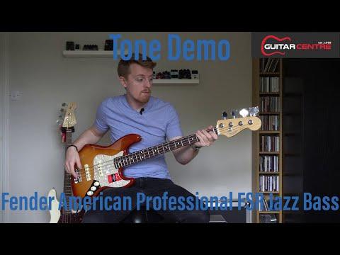 Fender American Professional FSR Lightweight Ash Jazz Bass | Overview & Demo