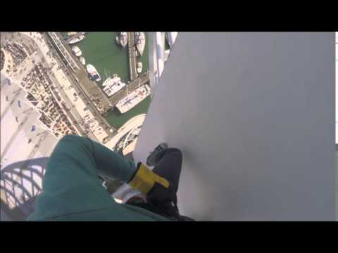 Jack's Spinnaker Tower Abseil for Hearing Dogs 25th May 2014