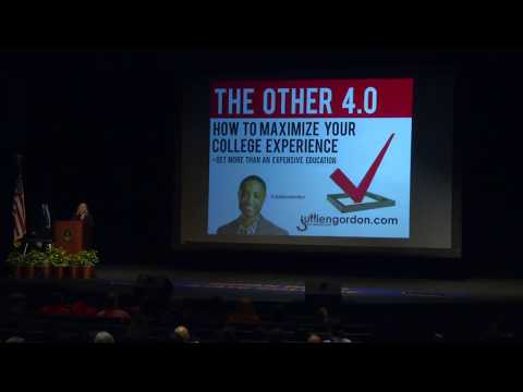 The Other 4.0 That Really Matters In College & LIfe With Jullien Gordon