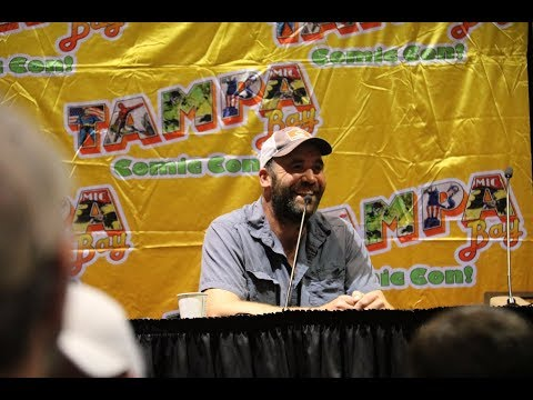 Rory McCann aka The Hound from GOT  Q&A from Tampa Bay Comic Con 8418