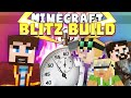 Minecraft Minigames - Blitz Build - 1 Minute Challenge