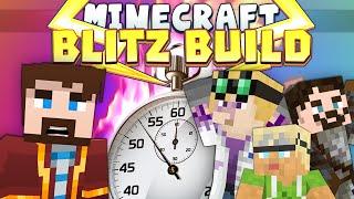 Minecraft Minigames - Blitz Build - 1 Minute Challenge