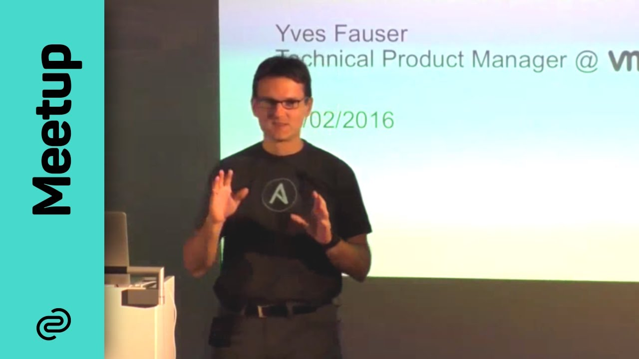 Ansible Module Development in Python by Yves Fauser | Ansible Meetup Munich
