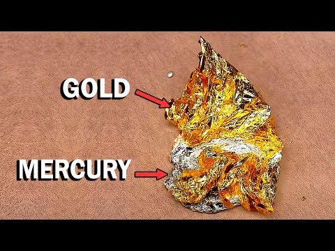 Dissolving Gold In Mercury