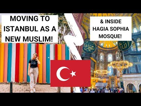 WHY I'VE MOVED TO ISTANBUL! & Inside Hagia Sophia & Suleymaniye Mosque!