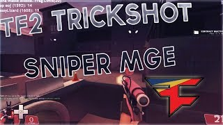 I Hit A Trickshot In This Tf2 Sniper MGE... (Mastering MGE highlights) #FaZeJoe