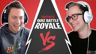 Beni AGAINST Haubna - France TheBuddiesZocken dans le Fortnite Quiz Battle Royale #04