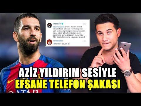 ARDA TURAN'A HAKARET AZİZ YILDIRIM SESİYLE TROLLEDİM !