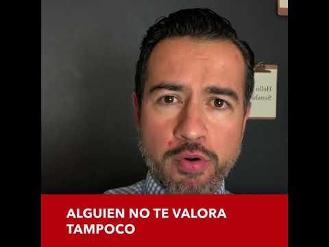 Si no te valora, tampoco te respetar�... Pastor Freddy De Anda