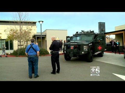 San Leandro Police Seek Armored Rescue Vehicle, Critics Claim Militarization
