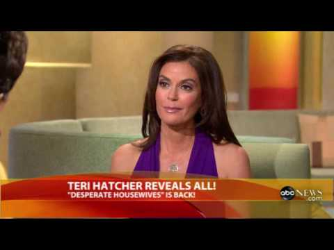 Teri Hatcher - Latest on