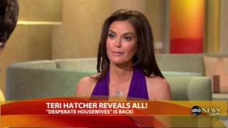 Teri Hatcher - Latest on